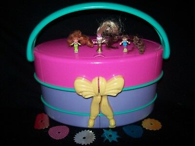 EUC with Six Skirts Vintage Polly Pocket Light Up Fashion Show 1995