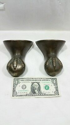 2 Antique Old Cast Iron Claw Paw Ball Foot Tub Feet Vintage Hardware Bathtub