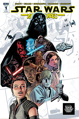 Star Wars Adventures #1 (Lcsd 2017 Variant) Idw/ Local Comic Shop Day