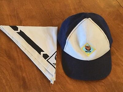 Cub Scouts Bear Hat And Neckerchief