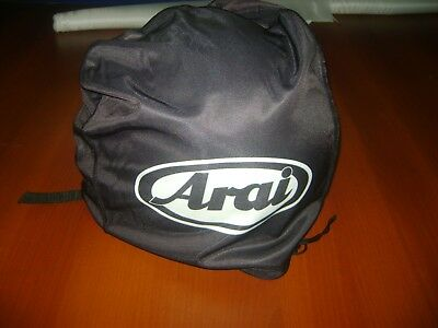 Motorcycle Helmet Bag Microfiber Arai Helmet Bag Carry Helmet Duffle Black