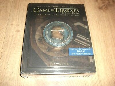 Game of Thrones Season 6 Blu-Ray Steelbook inkl. Magnet Siegel NEU