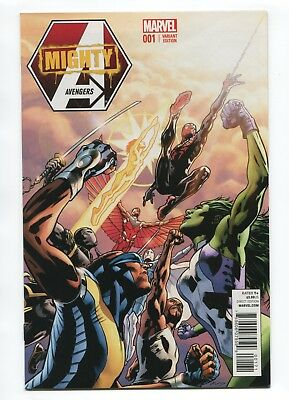 2013 Marvel The Mighty Avengers #1 Bryan Hitch 1:50 Variant Near Mint D3