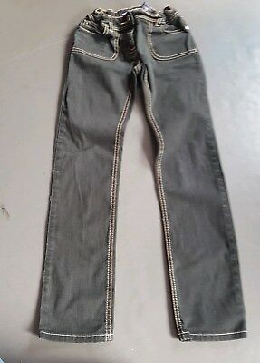 Mini Boden boys black jeans age 10 years