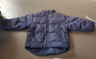 Polo by Ralph Lauren padded navy blue jacket age 2 years