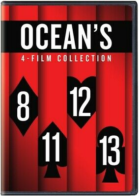 Ocean's 8 Collection - 4 DISC SET (2018, DVD NUOVO) (REGIONE 1)