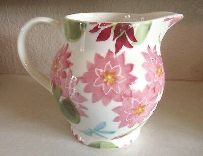 Emma Bridgewater HALF PINT JUG - WATER LILY - never been used.