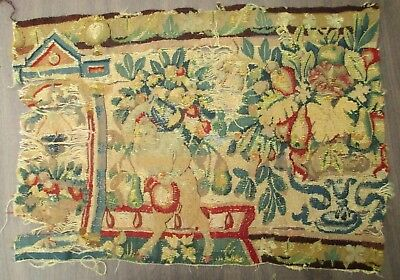 A 17th Century Tapestry Fragment