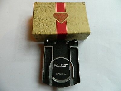 "Rolleiflex "" Rolleifix"" Tripod Mount in Box"