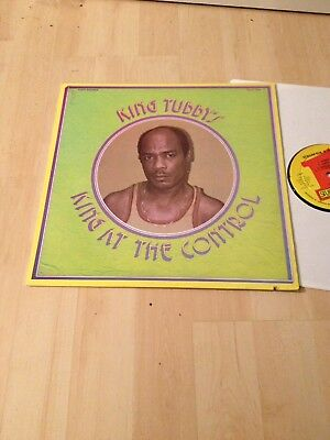 King Tubby-King At The Control LP `81 Dub Reggae Vista Sounds Uk