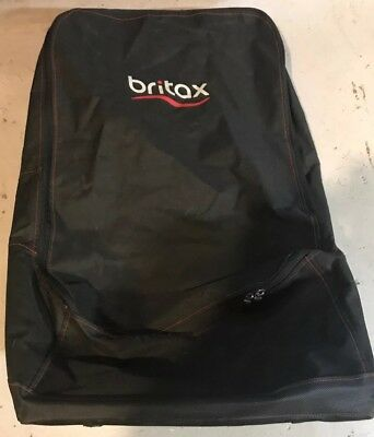 Britax Car Seat Travel Bag Black Backpack Style With Wheels