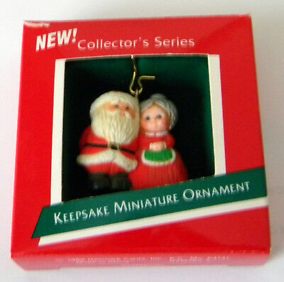 1989-1991 Hallmark miniature The Kringles ornaments #1, #2 and #3 in series