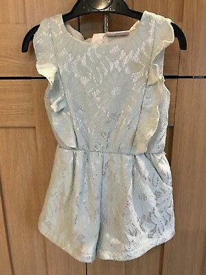 Matalan Girls Shimmer Playsuit Age 3 Years Excellent Condition