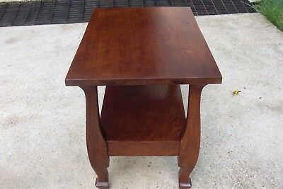 Quatered Sawn Oak End Table / Night Stand one of a kind
