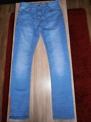 NEXT Boys Skinny Jeans Adjustable Waist Age 13 years /158cm Great Condition