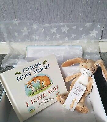 Brand new - Gift boxed - Jojo Maman Bebe - Guess how much I love you.