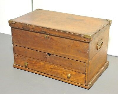 Vintage Wood Chest or Trunk