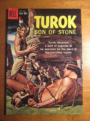 TUROK, SON OF STONE #17 (Dell/Gold Key,1959) (VF) or (VF/VF+) Glossy & Gorgeous!