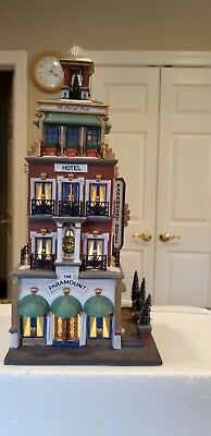 Department 56 Christmas in The City The Paramount Hotel #58911 in EXC++condition