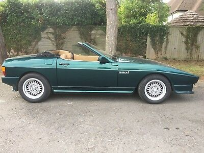 TVR 350i v8 1986 convertile, no reserve price