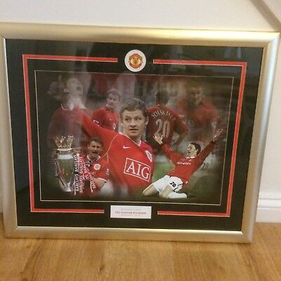 ManUnited Ole Gunnar Solskjaer Barclays Cup Picture