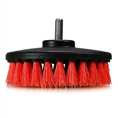Chemical Guys Carpet Brush with Drill Attachment, Heavy Duty, Red - ACC_201_RED