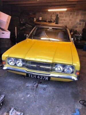 1973 Ford Cortina 2000 Gt  Mk3  Yellow