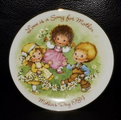 Collectable Avon Exclusive 1984 Mothers Day Collectors Plate Made In Japan