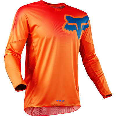 Fox - 360 Viza Orange Men Jersey - Medium