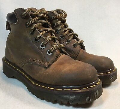 DR. MARTENS The Original Brown Boots Women's U.K. Size 4 U.S. Size 6
