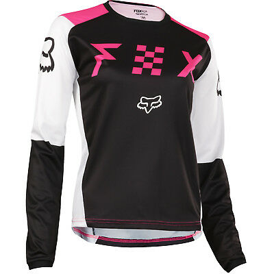 Fox - Switch Black/Pink Women Jersey - X-Small