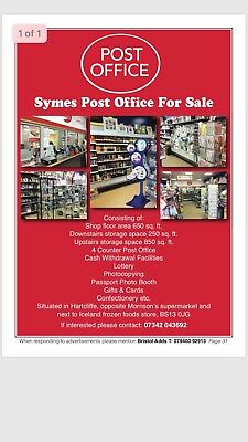 Post Office For Sale £20k
