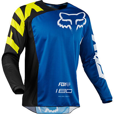 Fox - 180 Race Blue Jersey - Medium
