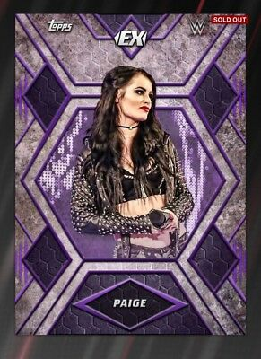 Topps WWE Slam Digital Card Paige 100cc Excellence 2018