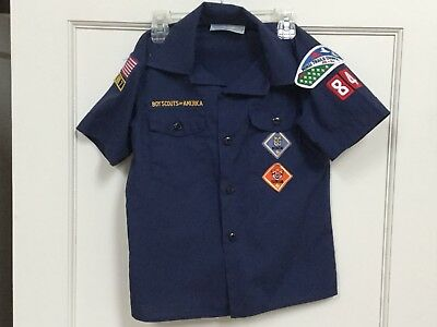 Cub Scout Uniform Shirt Small