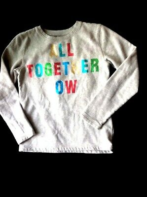 Peek Kids ALL TOGETHER NOW Sweatshirt Pullover Size XL EXTRA LARGE GIRLS