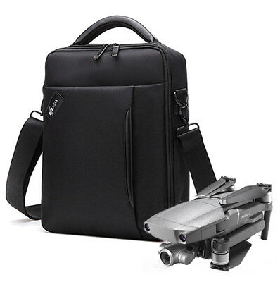 Waterproof Portable Carry Case Storage Bag for DJI Mavic 2 Pro Zoom Drone Black