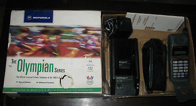 1996 Motorola DPC650 Olympian/Olympic Series Special Edition Cell Flip Phone HTF