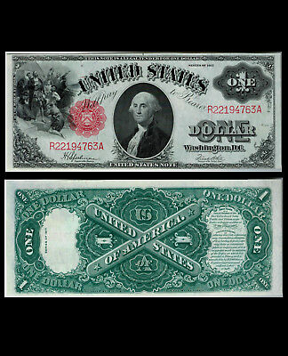 286-UNITED STATES. $ 1. 1917. One Dollar. FR # 39. Series of 1917. Choice UNC.
