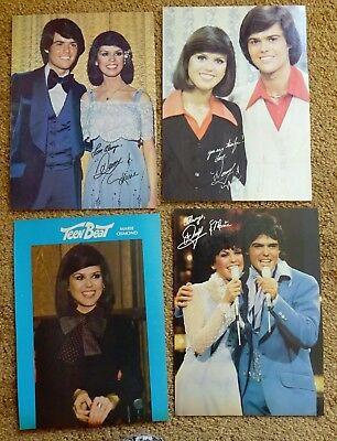 Donny and Marie Vintage Pinups