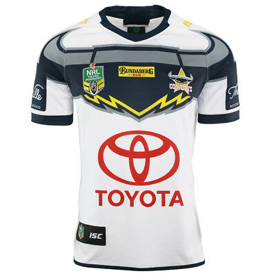 North Queensland Cowboys 2018 Away Jersey Sizes Large - 2XL NRL ISC SALE