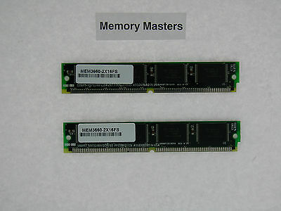 MEM3660-2X16FS 32MB Approved 2x16MB Flash upgrade for Cisco 3660 series routers