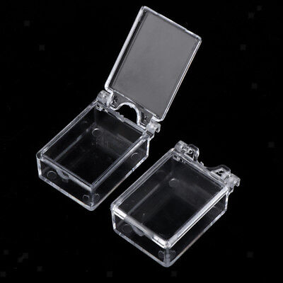 False Nail Art Tips Accessories Storage Case 20 Space Divided Compartments