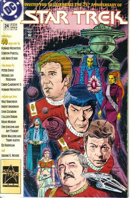 Classic Star Trek Comic Book Series 2 #24 DC Comics 1991 NEAR MINT NEW UNREAD