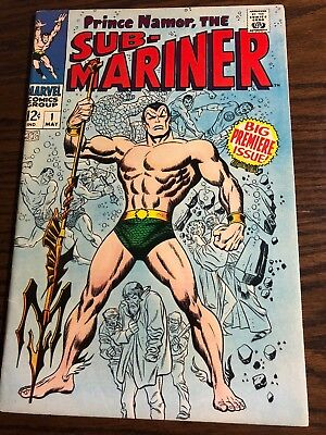 Sub-Mariner #1 - May 1968 - With Fantastic Four - Gorgeous Copy - Marvel