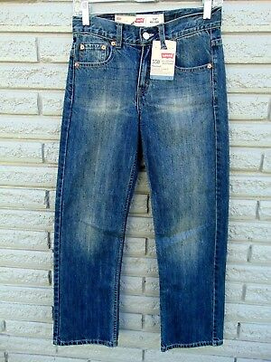 Boy's Jeans Levi's 550 Relaxed Adjustable Waistband Tapered Leg 12 Reg. 26x26