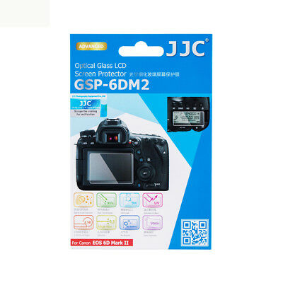 JJC GSP-6DM2 Optical Glass LCD Screen Protector for CANON EOS 6D MARK II, 6D2