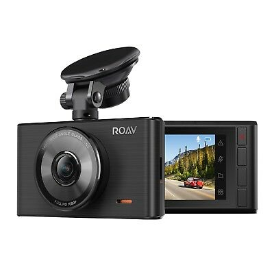"""Roav by Anker Dash Cam C2, FHD 1080P, 3"""" LCD, 4-Lane Wide Angle View Lens, G-Sns"""