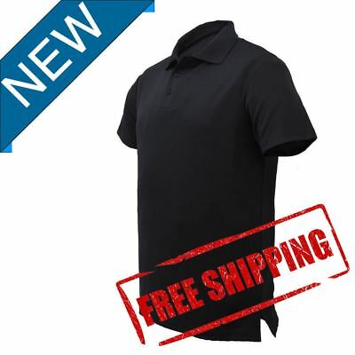Mens Polo Shirt Cool Dry Breathable Comfortable With Stretch Fabric Easy Care