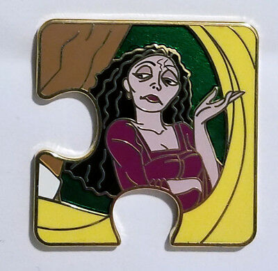 Disney LE 900 Mystery Puzzle Character Connection Pin Tangled Mother Gothel